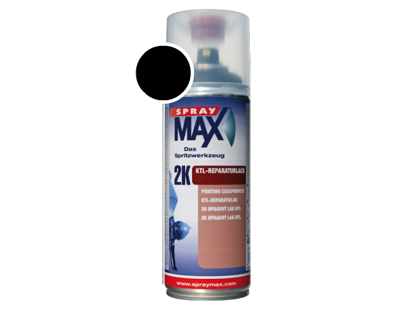 SprayMax 2K KTL Reparatielak zwart