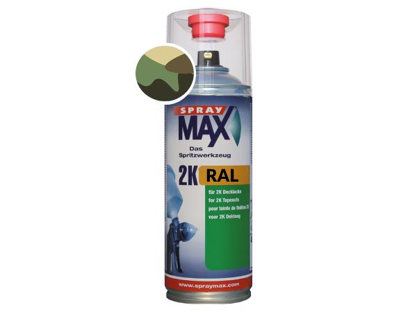 SprayMax 2K Camouflage legerkleuren verf spuitbus