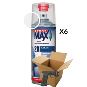 SprayMax 2K Blankelak voordeel verpakking