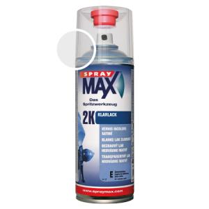 SprayMax 2K zijdeglans blanke lak autolak