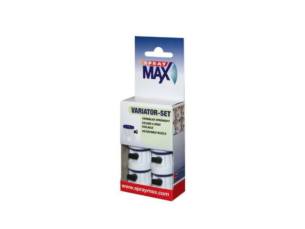 SprayMax variator-set speciale verstelbare spuitbus kopjes