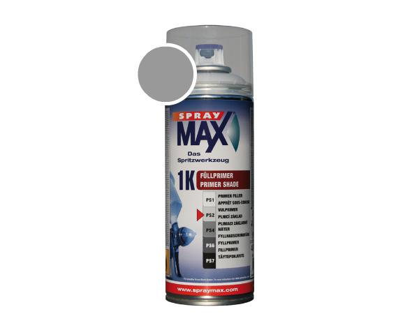 SprayMax 1K vulprimer midden grijs