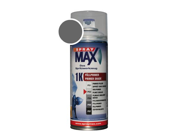 SprayMax 1K fullprimer donker grijs verfspuitbus 680276
