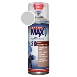 SprayMax 2K epoxy primer verfspuitbus grijs