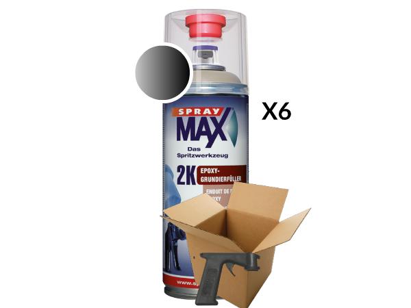 SprayMax 2K Epoxyprimer voordeel verpakking