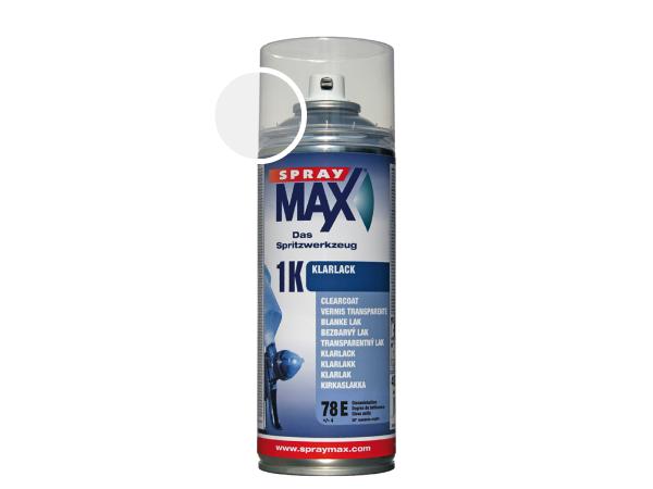 SprayMax 1K blanke lak mat autolak