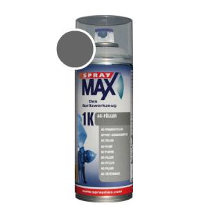 SprayMax 1K AC fuller donkergrijs spuitbus
