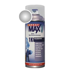 SprayMax 1K velgen zilver spuitbus